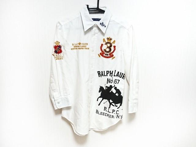 ラルフローレン RalphLauren 七分袖シャツブラウ...