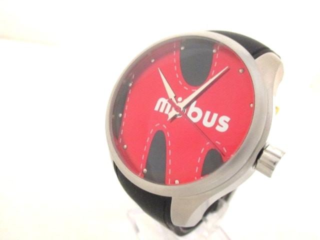 モーブス mobus 腕時計 美品 - - メンズ ラバーベ...
