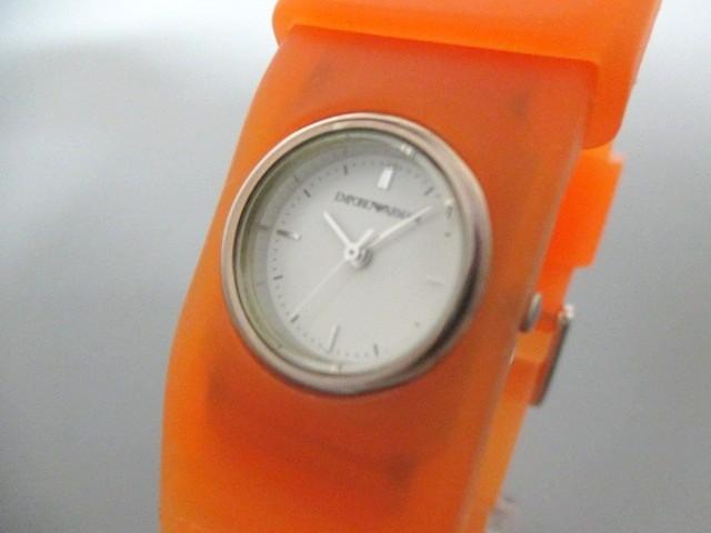 アルマーニ EMPORIOARMANI 腕時計 美品 AR-1007 ...