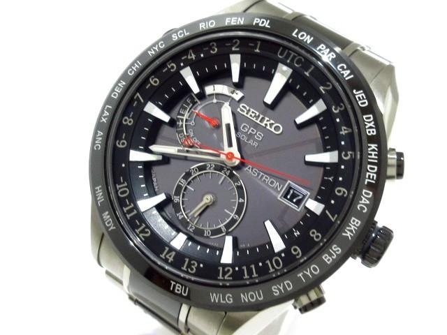 セイコー SEIKO 腕時計 美品 アストロン 7X52-0AF...