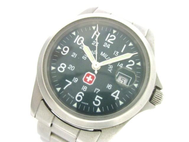 スイスミリタリー SWISS MILITARY 腕時計 美品 6-...