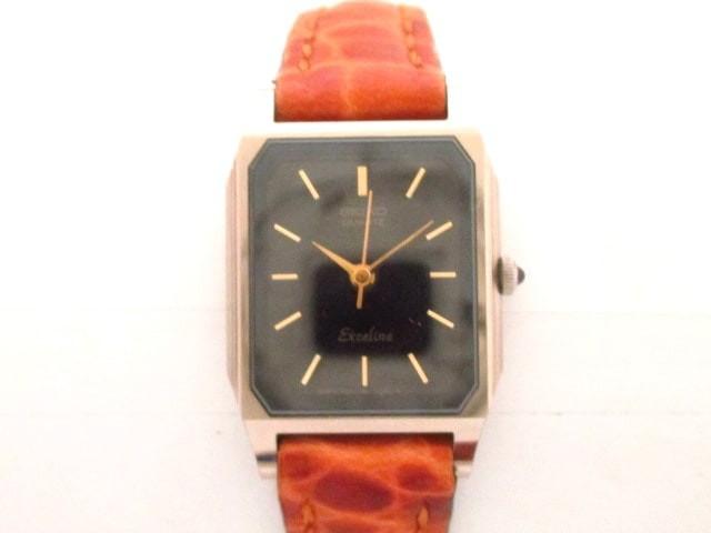 セイコー SEIKO 腕時計 美品 EXCELINE 1221-5020 ...