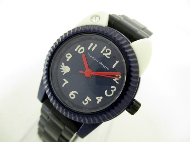 ツモリチサト TSUMORI CHISATO 腕時計 美品 VC01-...