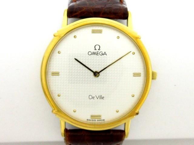 オメガ OMEGA 腕時計 デビル - ボーイズ 革ベルト...