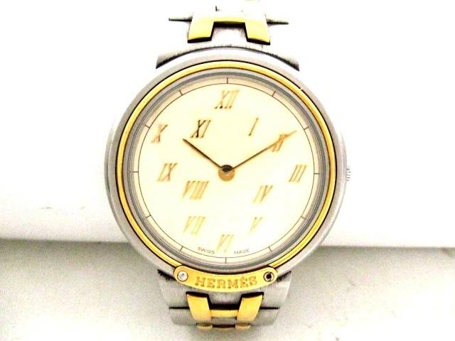 エルメス HERMES 腕時計 メテオール - メンズ ア...