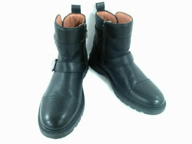 ジェオックス GEOX ブーツ 39 メンズ 美品 黒 RES...