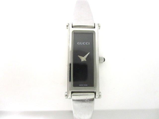 グッチ GUCCI 腕時計 1500L レディース 黒【中古...