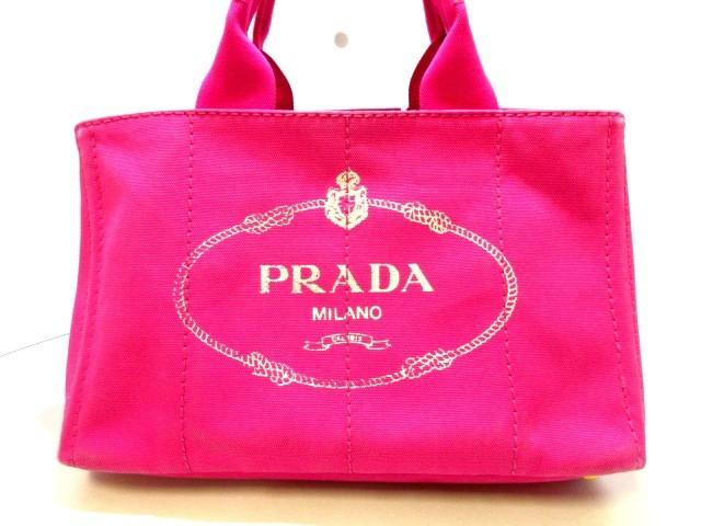 プラダ PRADA トートバッグ レディース CANAPA ピ...