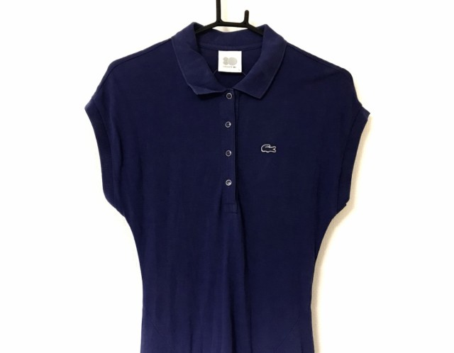 6fee465e416d6 ラコステ Lacoste ワンピース サイズ36 S レディース ブルー ポロシャツ ...