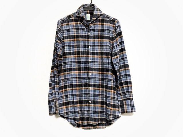 フィナモレ finamore 長袖シャツ サイズ14 1/237 ...