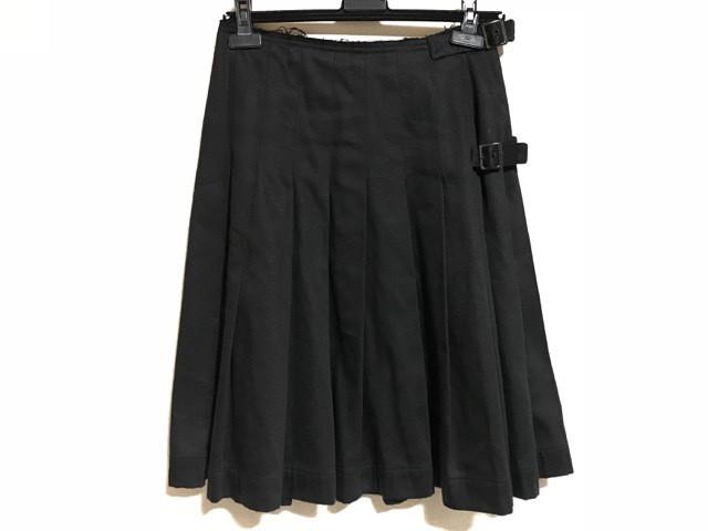 ワイズ Y's スカート サイズ2 M レディース 黒 プ...