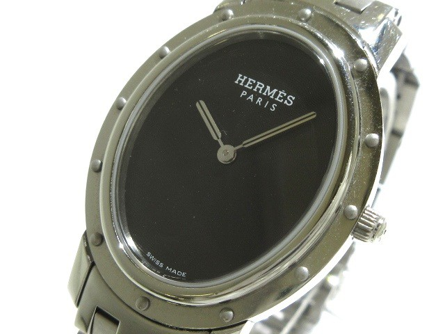 エルメス HERMES 腕時計 クリッパーオーバル CO1....