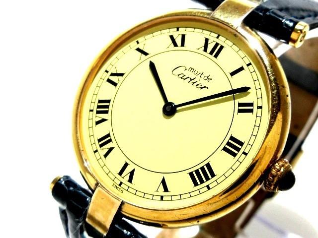 カルティエ Cartier 腕時計 マストヴェルメイユ -...