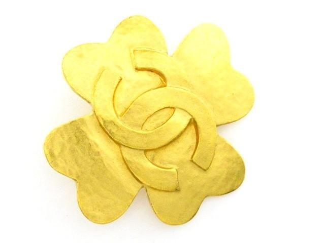 564a698e8bcebf シャネル CHANEL ブローチ レディース 金属素材 ゴールド ココマーク【中古】