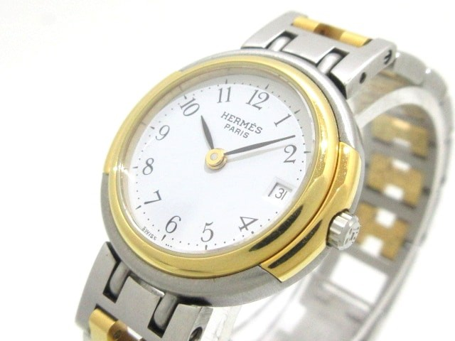 エルメス HERMES 腕時計 プロフィール - レディー...
