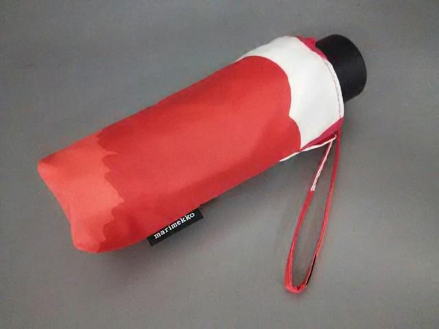 マリメッコ marimekko 折りたたみ傘 レディース ...