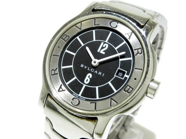 ブルガリ BVLGARI 腕時計 ソロテンポ ST29S レデ...