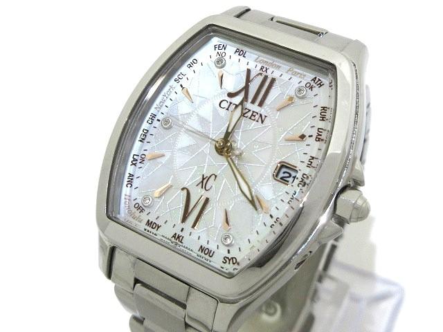 シチズン CITIZEN 腕時計 美品 XC H240-T021646 ...