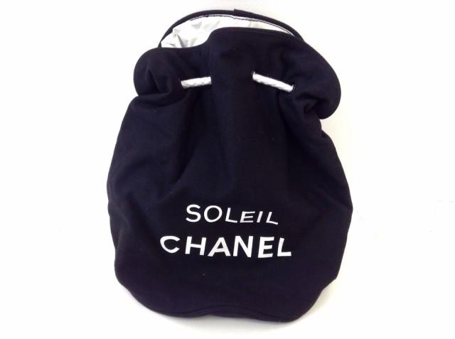 e75852585237 シャネル CHANEL ワンショルダーバッグ レディース - 黒×白 SOLEIL CHANEL/巾着バッグ/