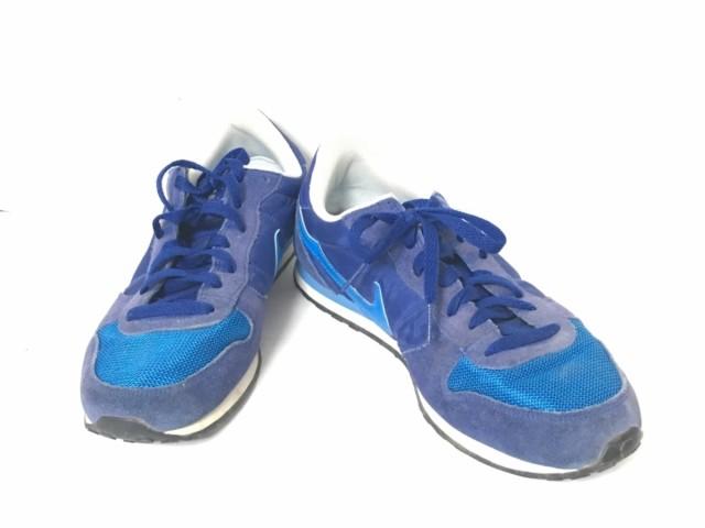 ナイキ NIKE スニーカー 26-5 メンズ ジニコ 644441-011 ブルー×ネイビー 化学繊維×スエード【中古】