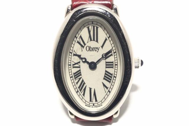 オブレイ Obrey 腕時計 - レディース 型押し加工 ...