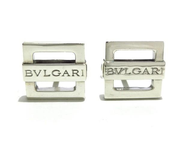 ブルガリ BVLGARI カフス レディース シルバー【...