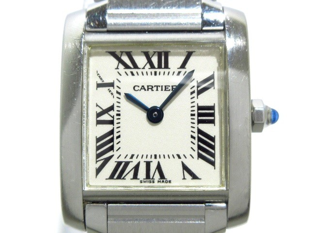 カルティエ Cartier 腕時計 タンクフランセーズ S...