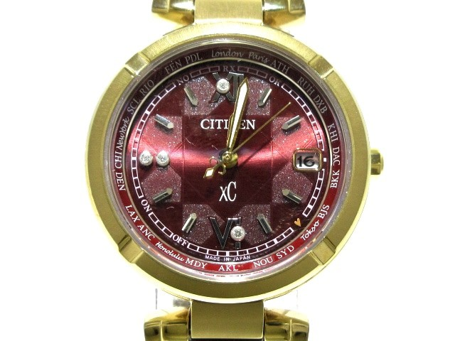 シチズン CITIZEN 腕時計 クロスシー H240-T02199...
