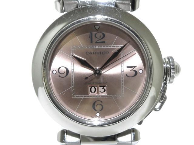 カルティエ Cartier 腕時計 パシャCビッグデイト ...