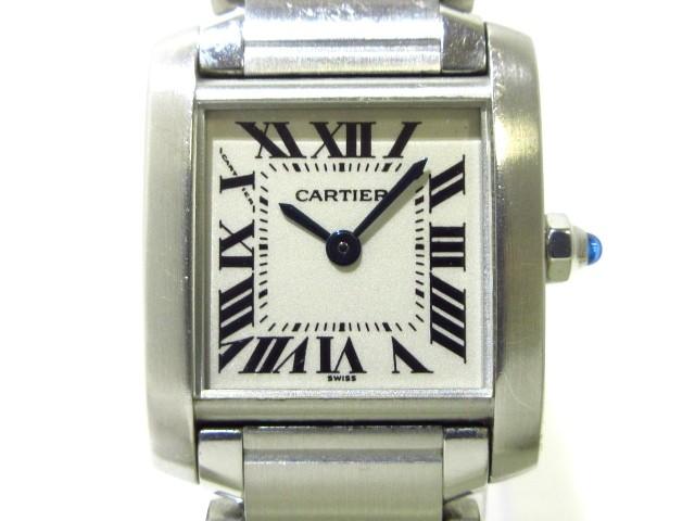 カルティエ Cartier 腕時計 タンクフランセーズSM...