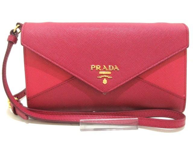 プラダ PRADA 財布 レディース - 1M1437 ピンク ...