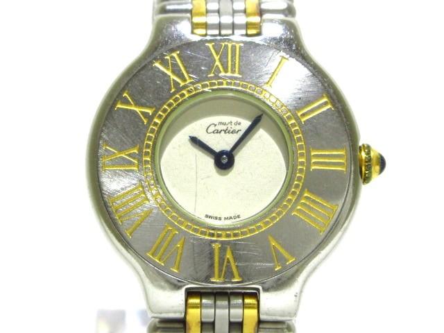 カルティエ Cartier 腕時計 マスト21ヴァンティア...