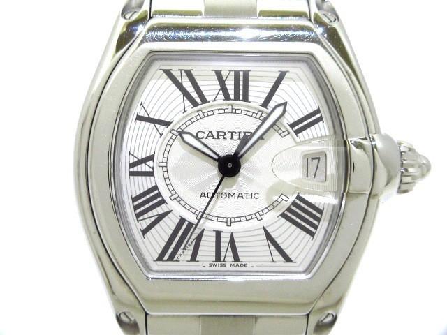 カルティエ Cartier 腕時計 ロードスターLM W6202...