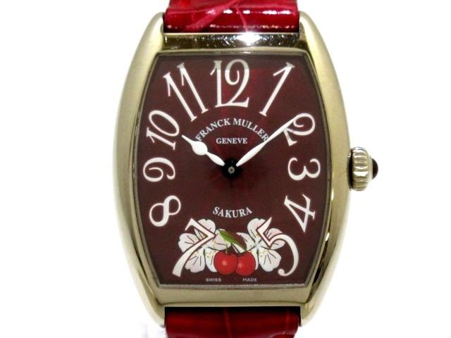 フランクミュラー 腕時計 トノーカーベックス サ...