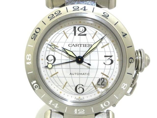 カルティエ Cartier 腕時計 パシャCメリディアンG...
