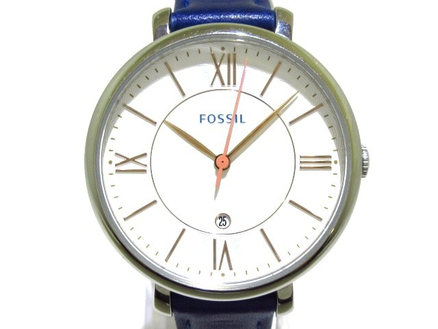 フォッシル FOSSIL 腕時計 美品 ES3986 レディー...