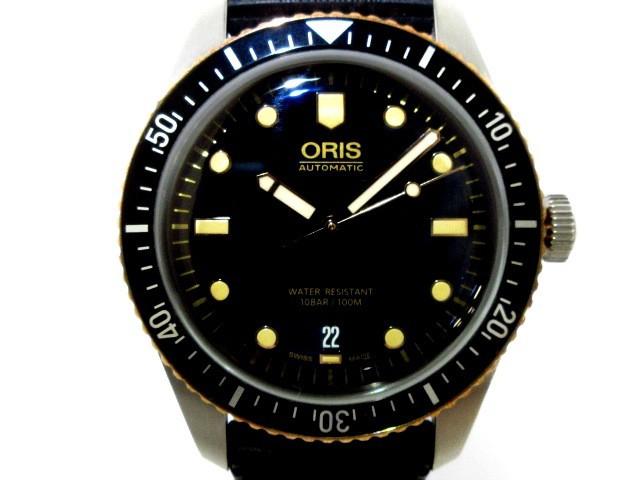 オリス ORIS 腕時計 美品 ダイバーズ 65 01 733 7...