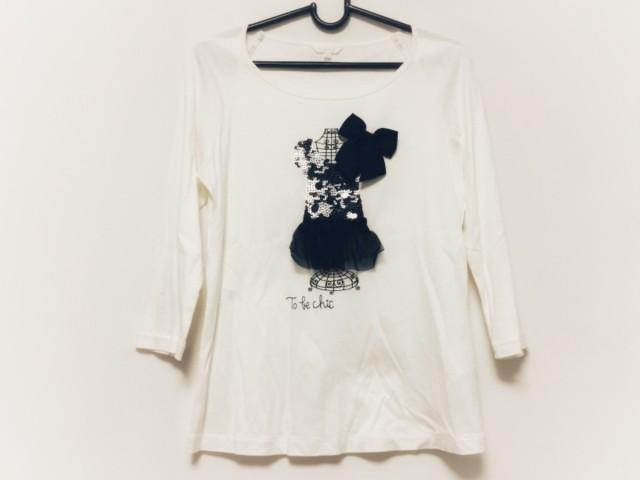 トゥービーシック TO BE CHIC 七分袖Tシャツ サイ...