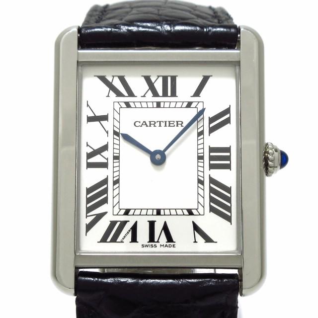 カルティエ Cartier タンクソロLM W5200003 メン...
