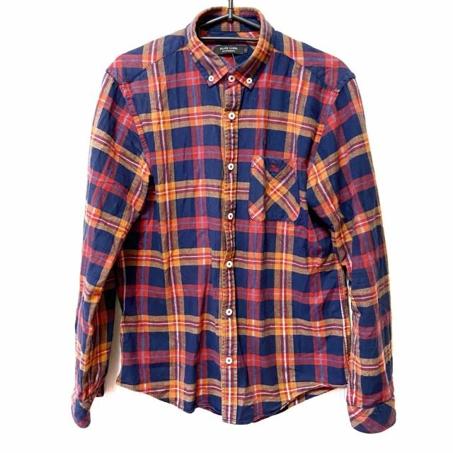 バーバリーブラックレーベル 長袖シャツ サイズ2 ...