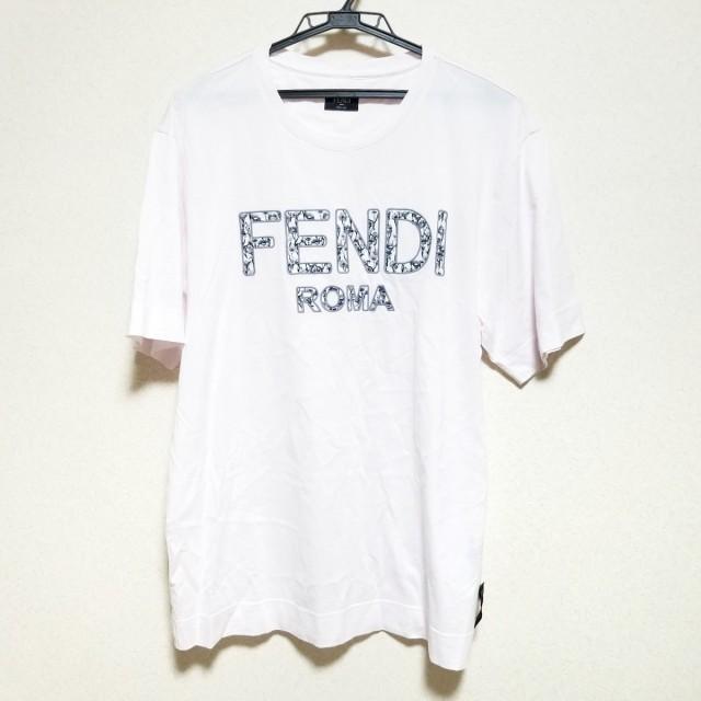 フェンディ FENDI 半袖Tシャツ サイズM メンズ 美...