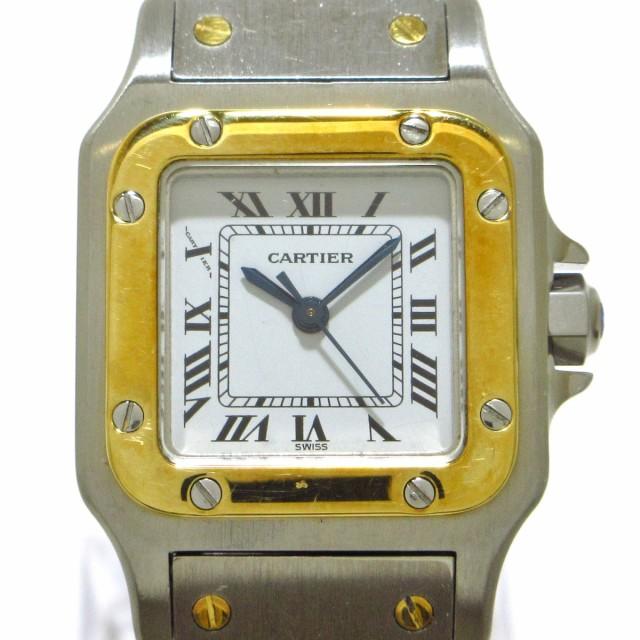 カルティエ Cartier 腕時計 サントスガルベ レデ...