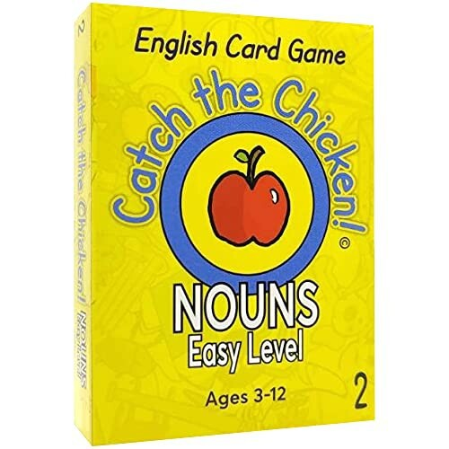 Catch the Chicken English Card Game NOUNS Easy...