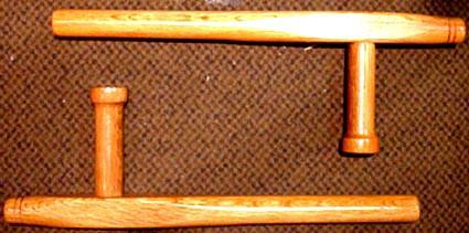 木製トンファー2本セット(台湾製)