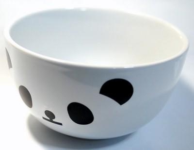 パンダ陶器製茶碗 【JKC045-A】