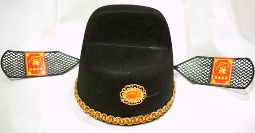 中華・状元帽・黒色(3色あり)