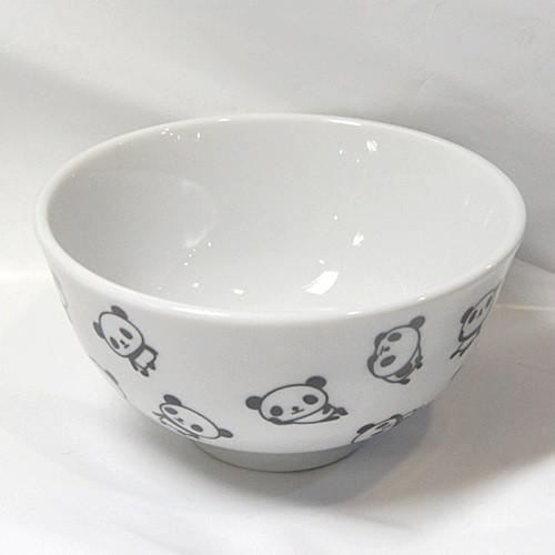 パンダ陶器製茶碗 【JKC033-B】
