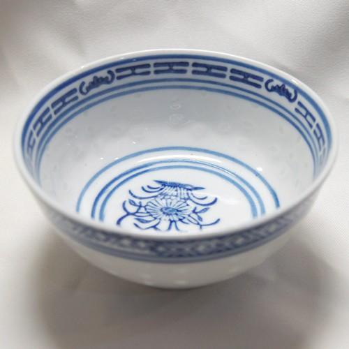 景徳鎮製 ホタル焼き 平口湯碗(=スープ碗)