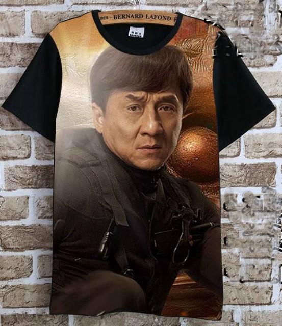 ジャッキー・チェン(成龍) Tシャツ 黒8