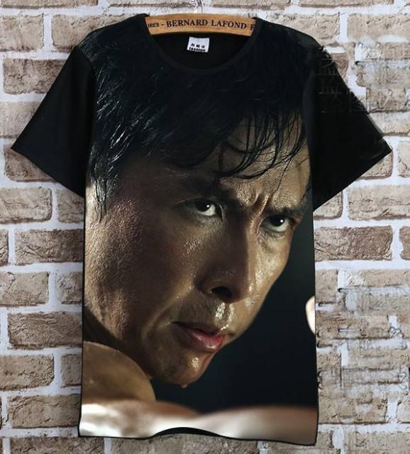 ドニー・イェン(甄子丹)   Tシャツ 黒1